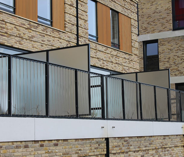 Balkonschermen